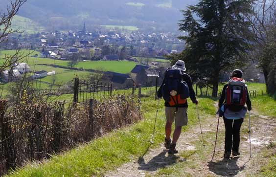 Saint-Côme, village étape sur le chemin de Saint-Jacques-de-Compostelle