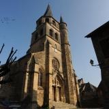 Eglise à clocher tors, Saint-Côme-d'Olt