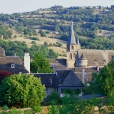 Vue générale de Saint-Côme-d'Olt
